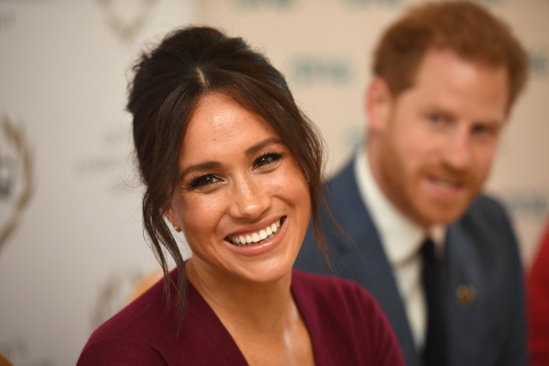 Meghan Markle and Prince Harry in Windsor