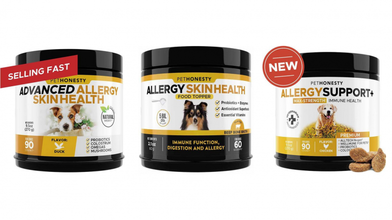 allergy support for dogs with seasonal allergies
