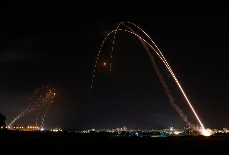 Israel has intercepted hundreds of rockets