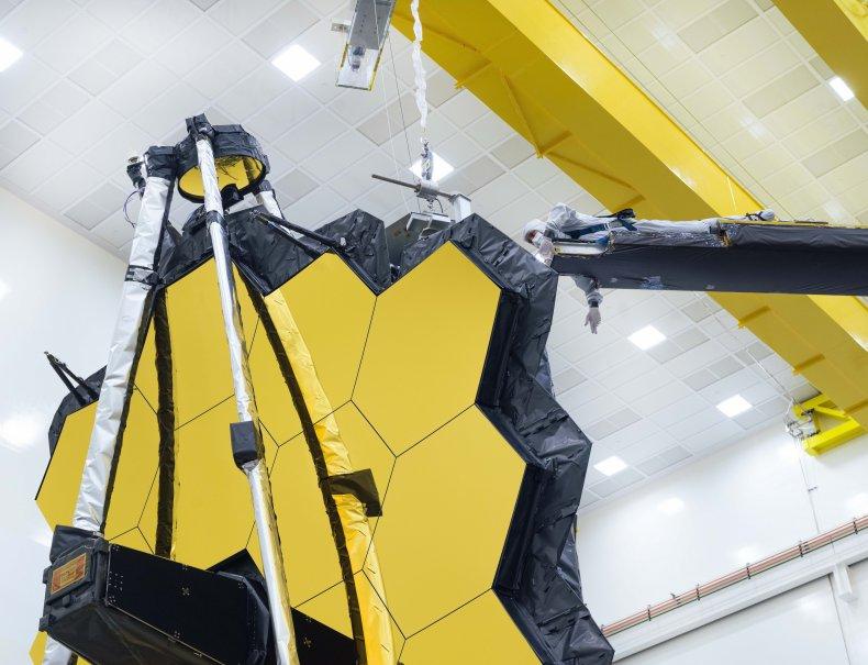 James Webb Space Telescope's primary mirror