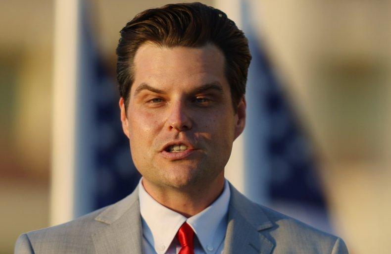 Matt Gaetz faces serious allegations