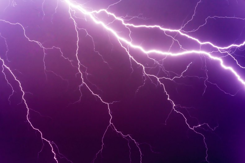 Forks of lightning