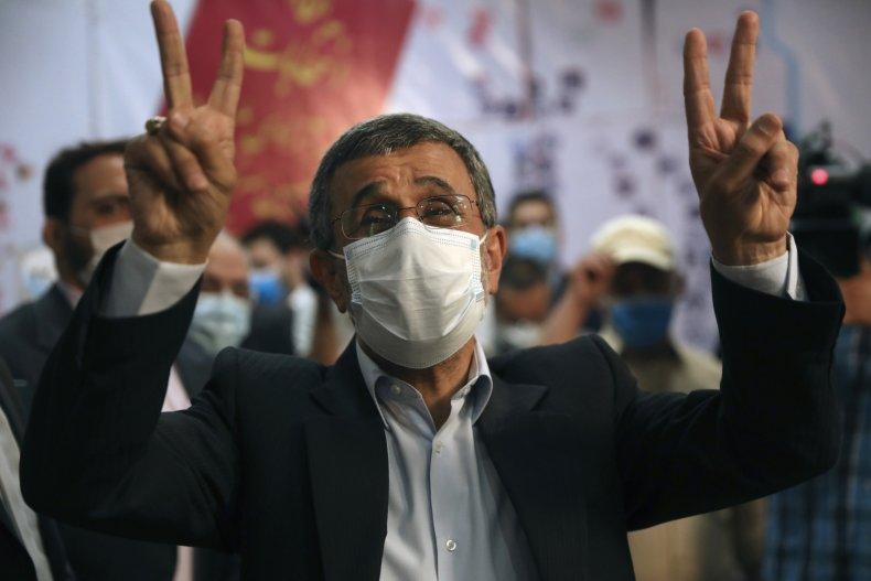 Iran Former President  Ahmadinejad