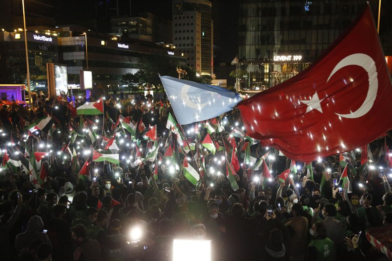 Turkey Protest Israel