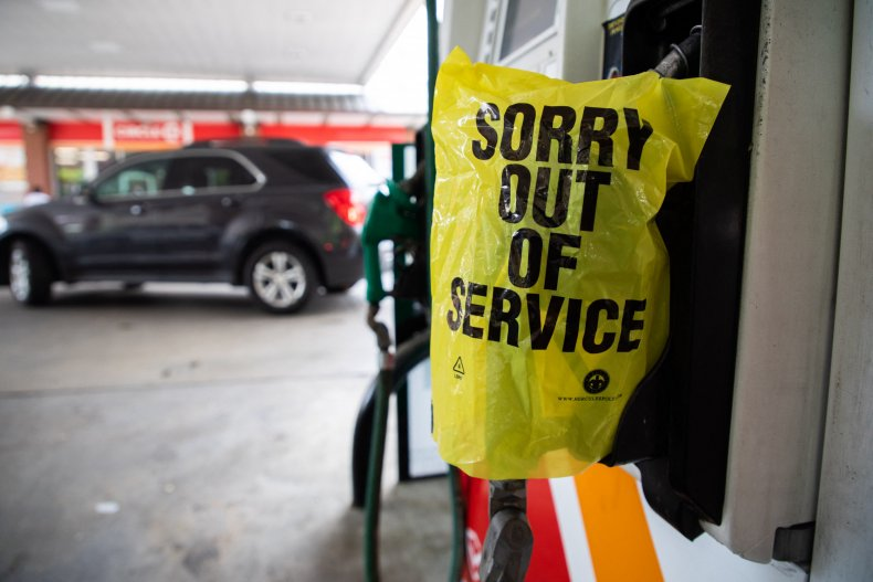 Charlotte gas shortage
