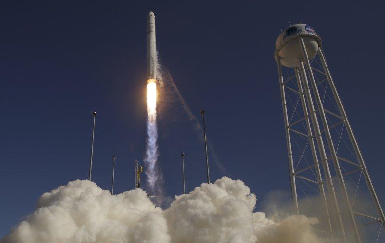 nasa rocket launch wallops virginia  Black Brant,getty