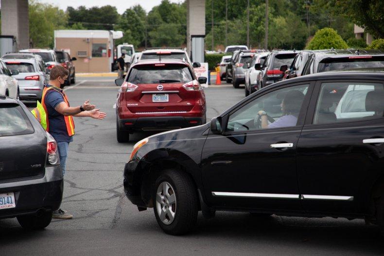 Gas shortage in North Carolina