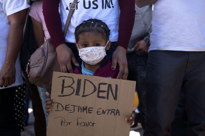 Mexico US Migration Protest