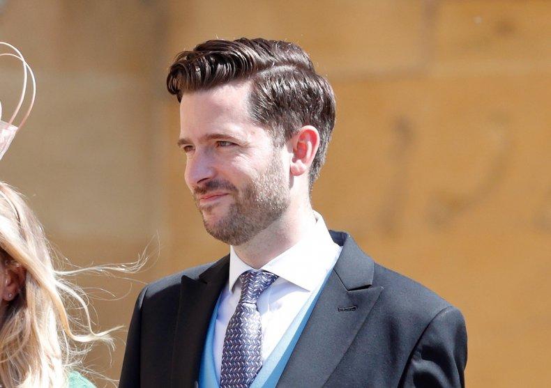 Jason Knauf at Prince Harry, Meghan Wedding