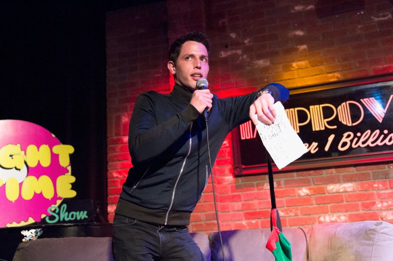 White comedian slammed for Asian slurs