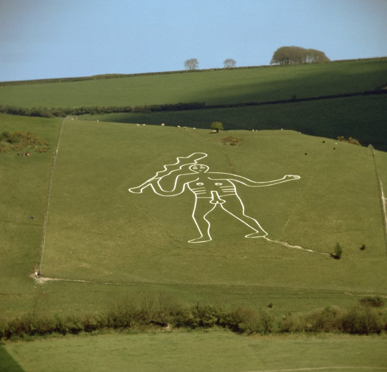 Archeologists solve mystery about Britain's largest figure