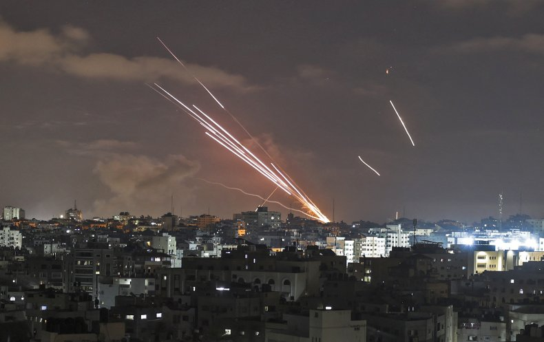 palestinian, rockets, gaza, israel