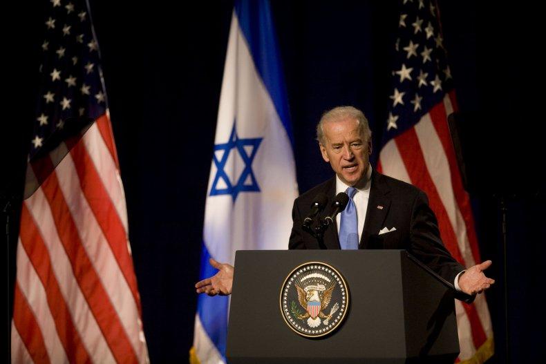 Biden Israel policy rocket attack Palestine interview