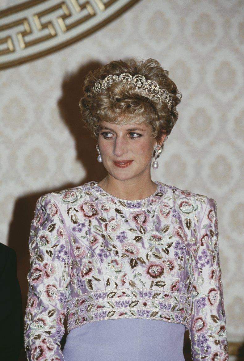 Princess Diana Wears the Spencer Tiara