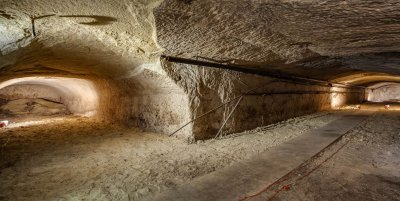 The cave inside the Plummer Pump House
