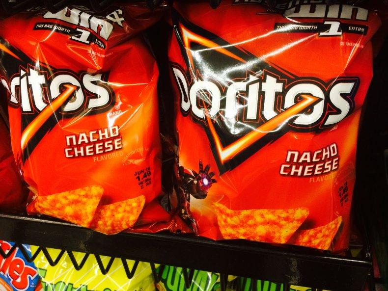Doritos potato chips