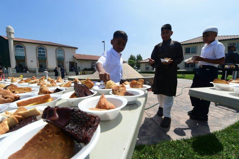 Eid al-Fitr food in California July 2016
