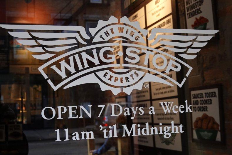 Wingstop chicken restaurant