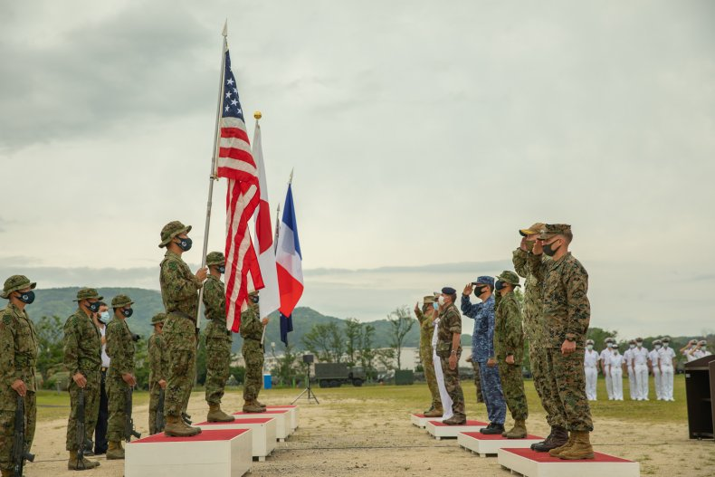 U.S. And Allies Join Japan Military Drills