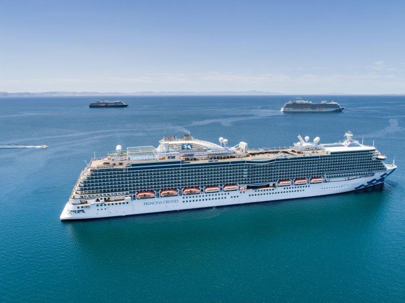 Princess Cruises vessel May 2021