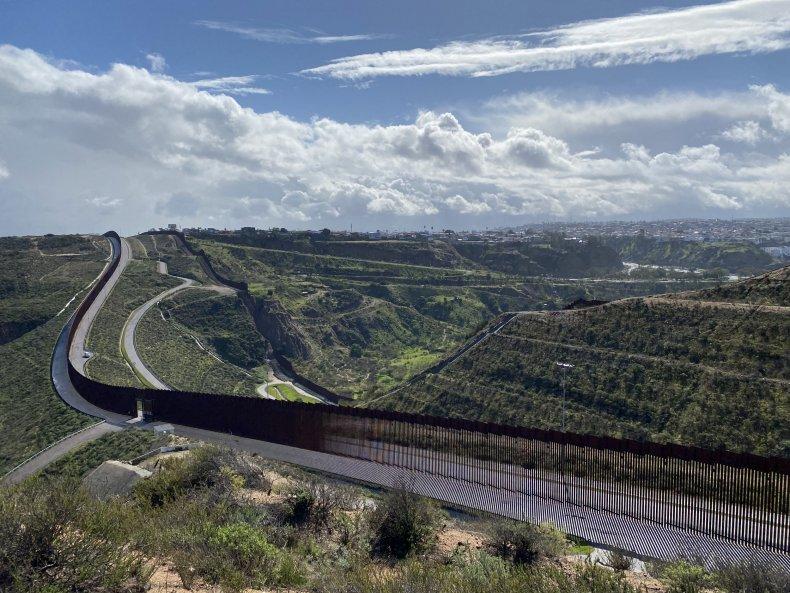Border wall San Diego