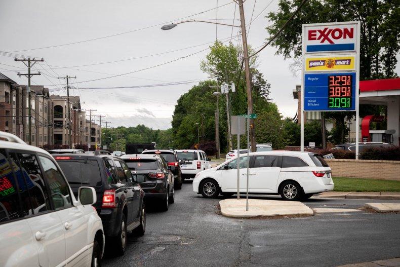 North Carolina gas station