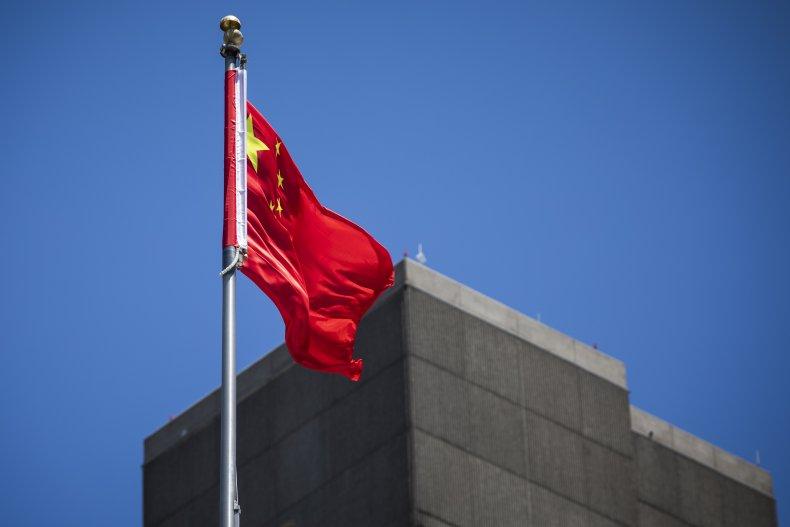 Chinese consulate in San Francisco in July