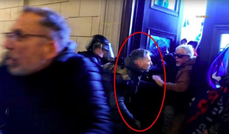christopher warnagiris capitol riot arrest