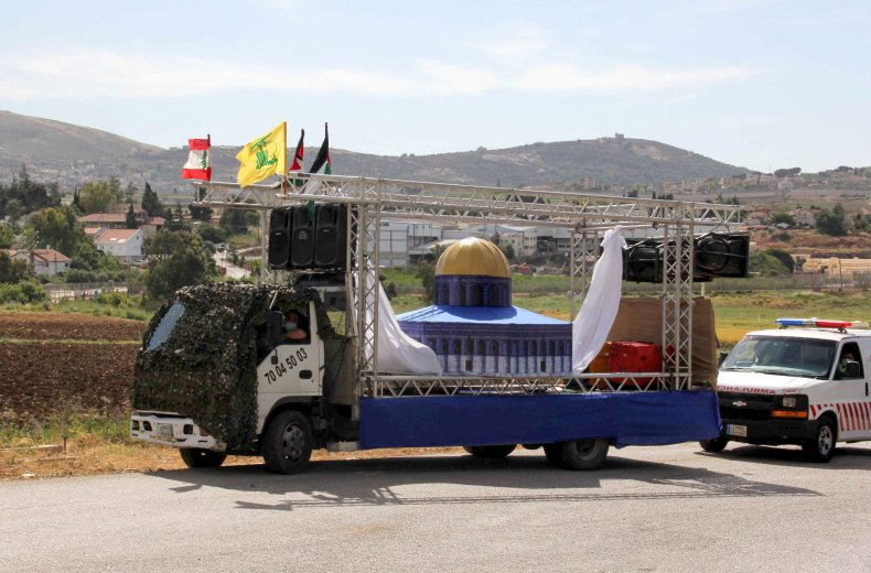 israel, lebanon, border, aqsa, mosque, hezbollah