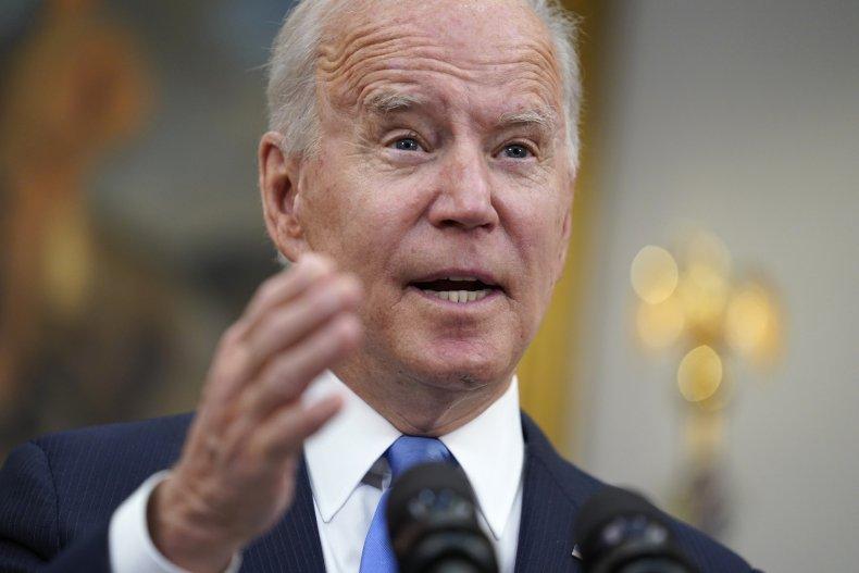 Biden Speaks on Colonial Pipeline Cyberattack