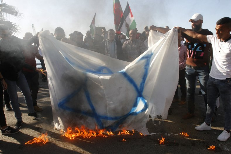 Lebanon Palestine Israel Protest