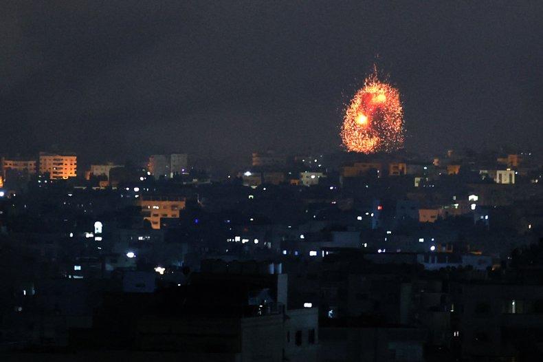 israel, airstrike, gaza, strip, invasion
