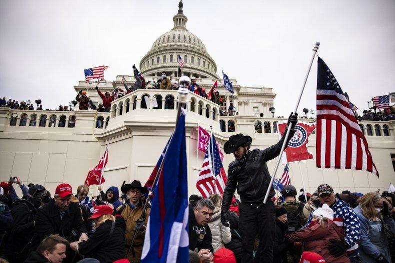 Pro-Trump supporters Capitol
