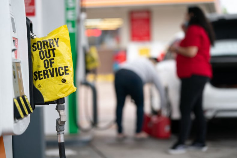 gas station Fayetteville