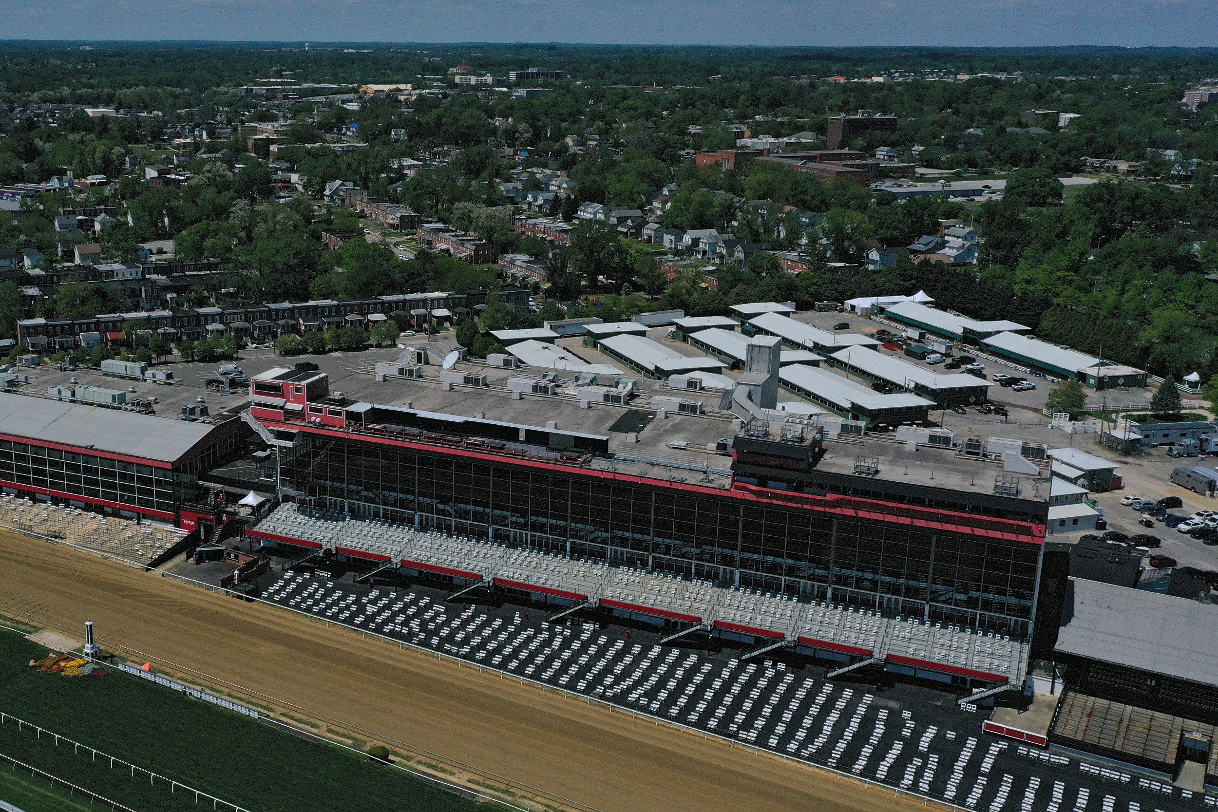 Latest Weather Forecast, Track Conditions Update for 2021 Preakness Stakes