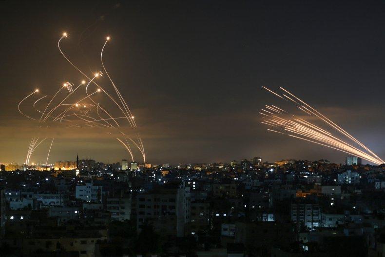 Rockets from Gaza try to kill Jews