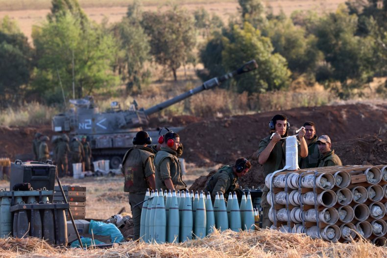 Israel Army Border Tanks