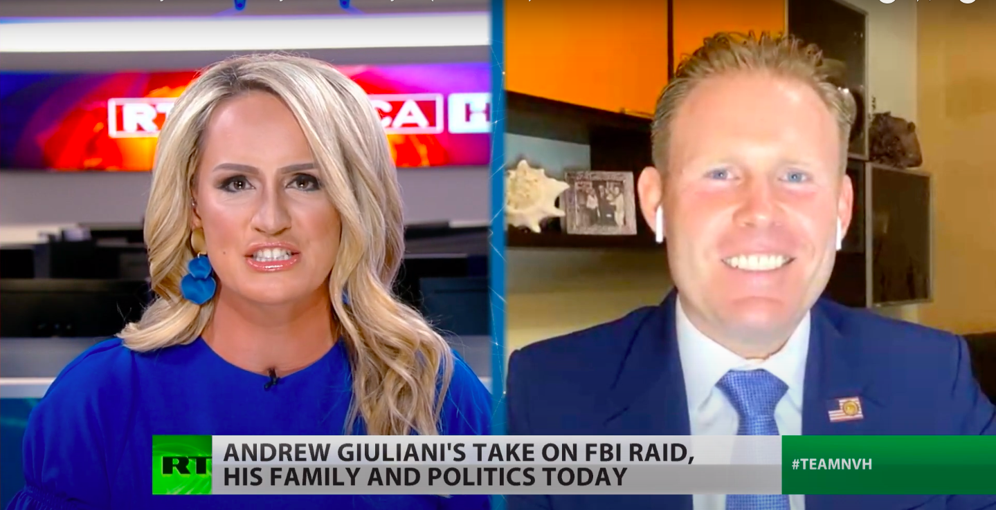 Rudy Giuliani's Son Attacks U.S. Media, Justice Dept. on Russian State TV