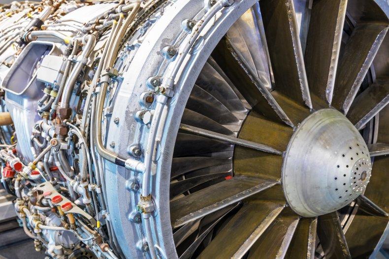 Aviation turbojet
