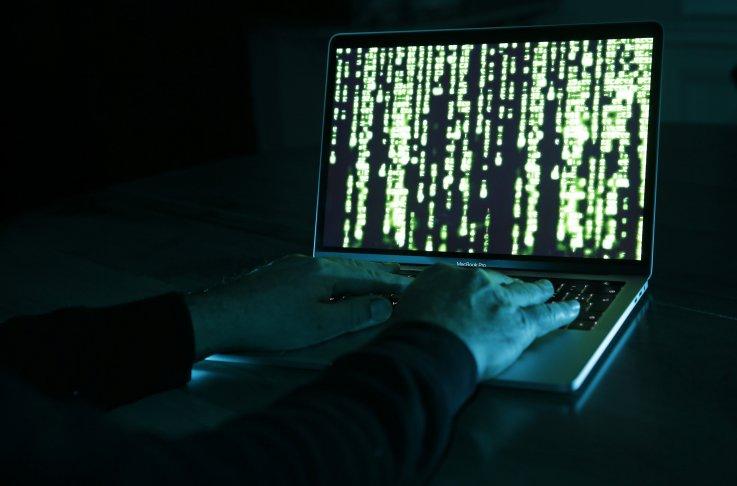 Hacker photographed in Paris