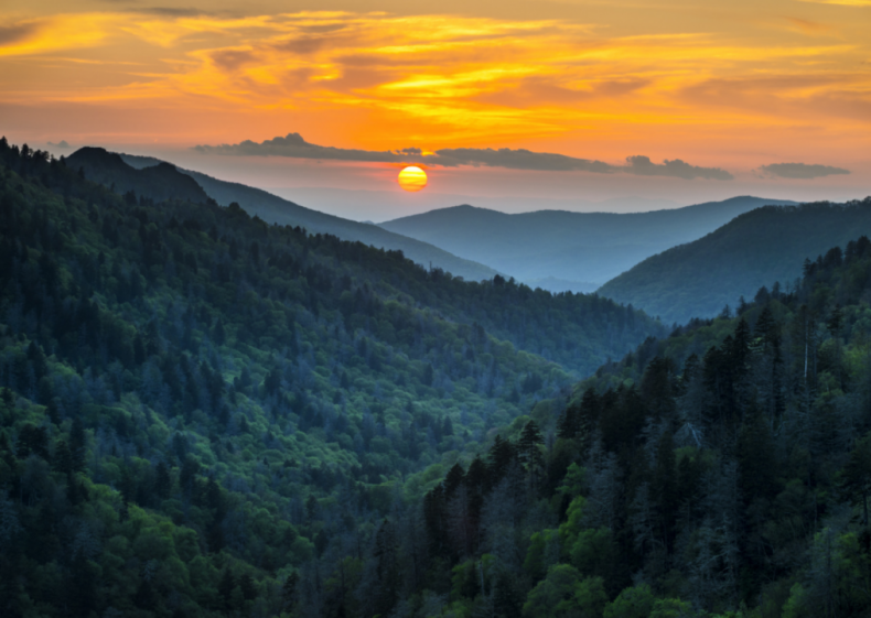 #1. Great Smoky Mountains National Park