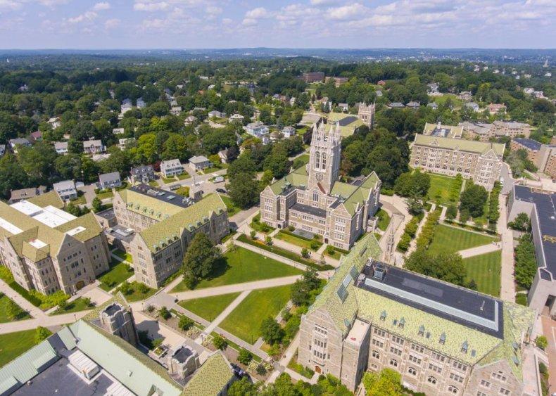 #42. Boston College