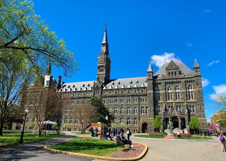 #23. Georgetown University