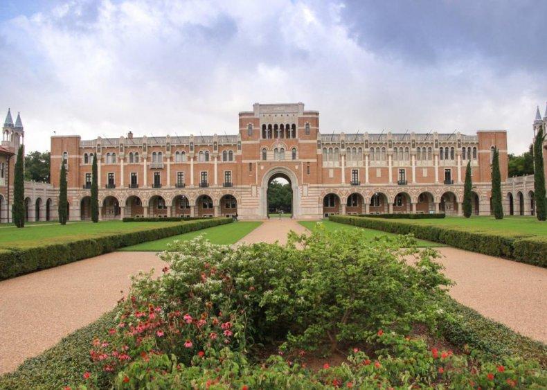 #7. Rice University