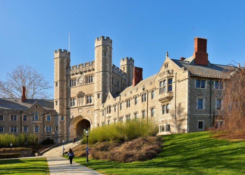 #6. Princeton University