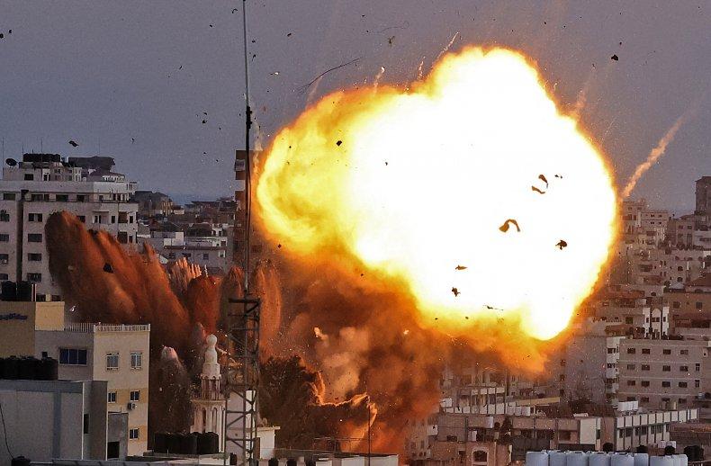 israel, bomb, gaza, city, hamas