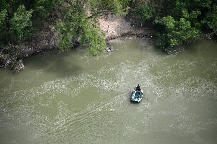 Rio Grande near McAllen, Texas