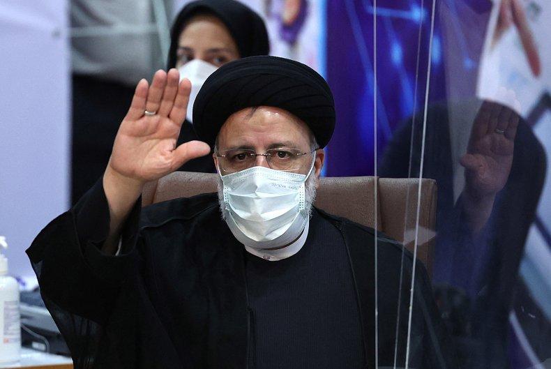 Iranian judiciary chief Ebrahim Raisi