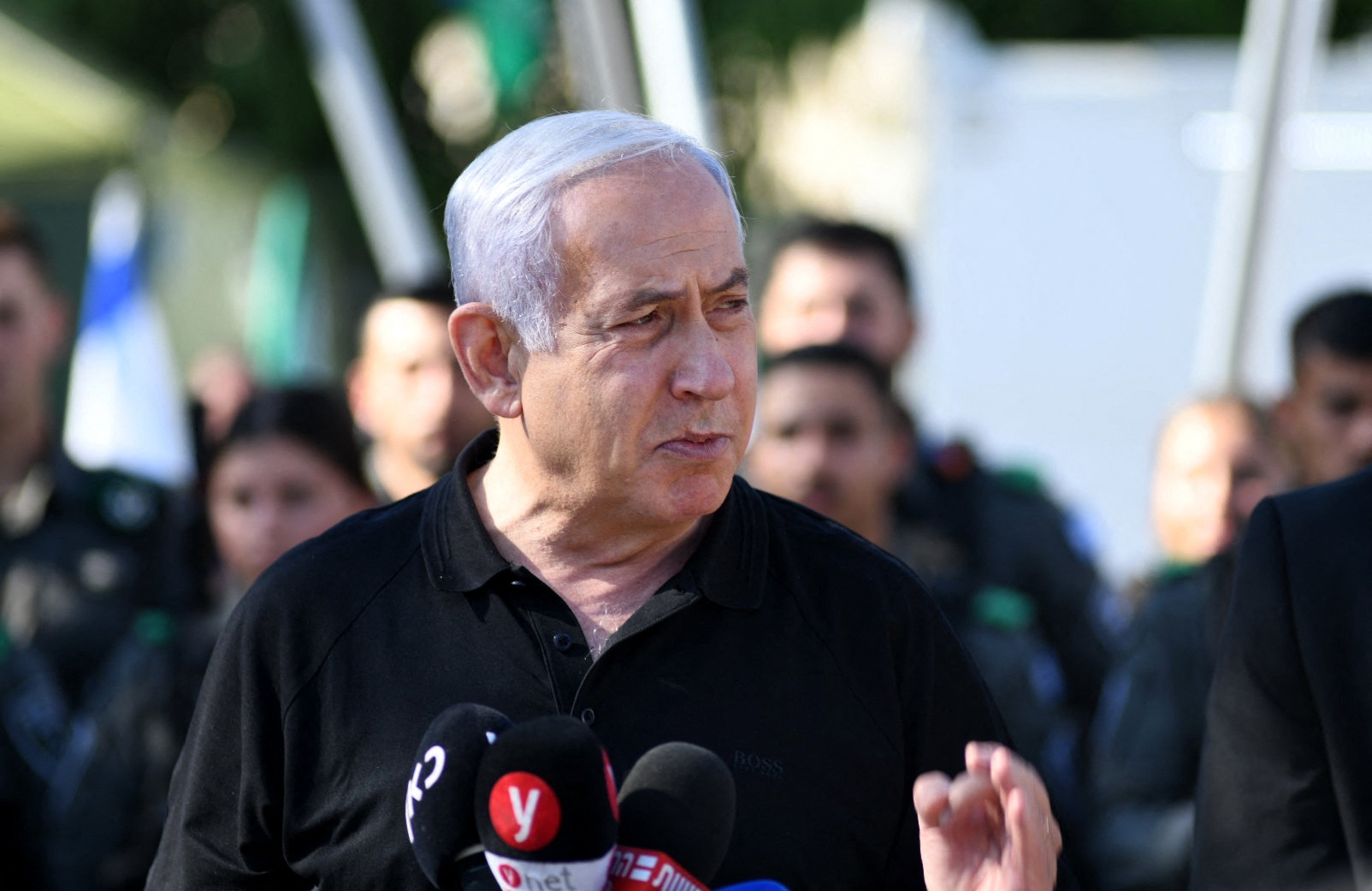 Netanyahu Says Journalists in al-Jalaa Tower Weren't in Danger