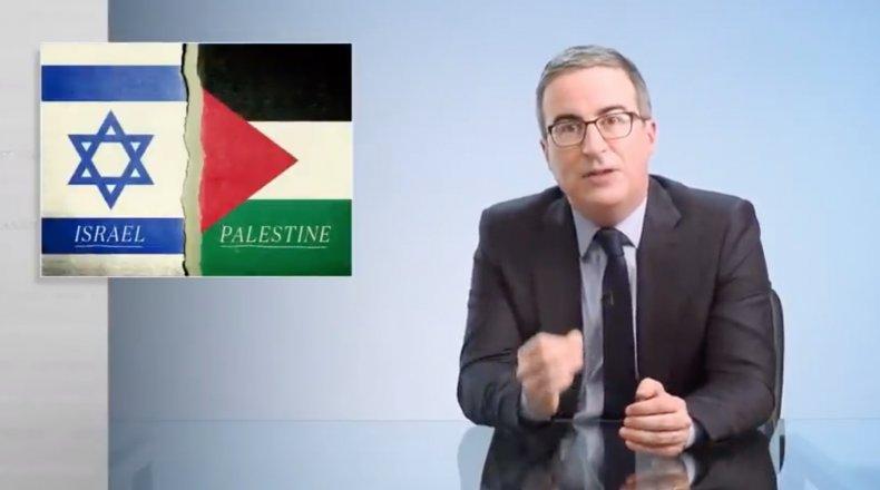 John Oliver on Israel Palestine
